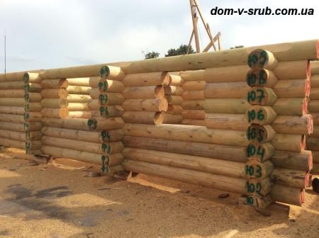 Срубы в процессе строительства_40