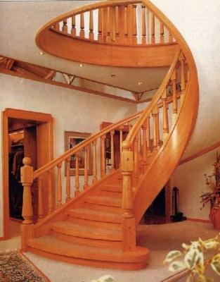 Деревянные лестницы_1