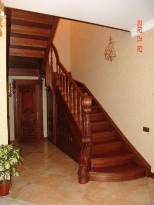Деревянные лестницы_8